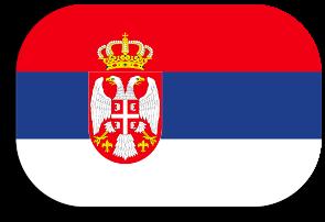 bandera de Sèrbia
